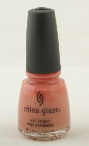 China Glaze Nail Polish SHY BLUSH CGX013