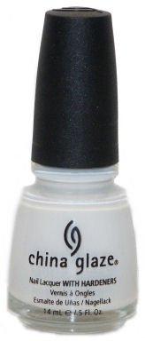 China Glaze Nail Polish WHITE ON WHITE CGX023
