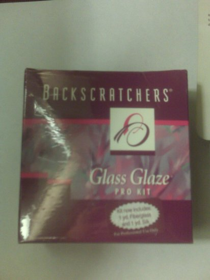 Backscratcher Glass Glaze Pro Kit - New In Box