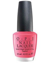 OPI Nail Polish Lacquer Strawberry Margarita NLM23