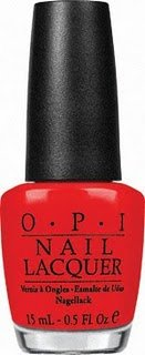 OPI Nail Polish Lacquer Red My Fortune Cookie NLH42