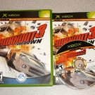 BURNOUT 3 TAKEDOWN RACING XBOX 100% COMPLETE