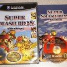 SUPER SMASH BROS MELEE GAMECUBE 100% COMPLETE PLAYS WII