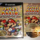 PAPER MARIO THOUSAND YEAR DOOR GAMECUBE 100% PLAYS WII