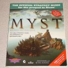 MYST GAME & STRATEGY GUIDE PC FULL MAP BOOK CD COMPLETE