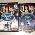 KARAOKE AMERICAN IDOL ENCORE PLAYSTATION 2 PS2 COMPLETE
