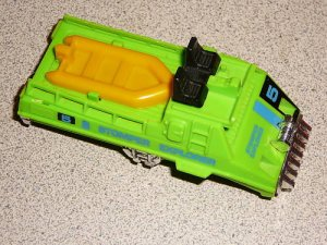 STOMPER EXPLORER WATER DEMON GREEN BODY SHELL SCHAPER
