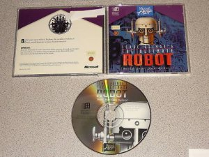 ISSAC ASIMOV'S THE ULTIMATE ROBOT WIN PC CD
