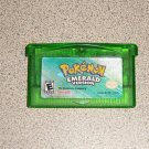 POKEMON EMERALD VERSION SAVE WORKS GAMEBOY ADVANCE GBA
