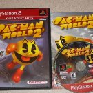 PAC MAN WORLD 2 PACMAN PS2 PLAYSTATION 2 100% COMPLETE