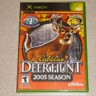 CABELA'S DEER HUNT 2005 SEASON XBOX NEW SEALED ORIGINAL