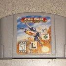 STAR WARS ROGUE SQUADRON N64 NINTENDO 64