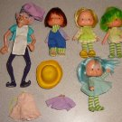 HUGE STRAWBERRY SHORTCAKE DOLL FURNITURE VINTAGE