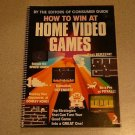 HOW TO WIN AT VIDEO GAMES VINTAGE 1982 ATARI GUIDE SC