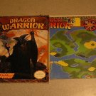 DRAGON WARRIOR NES NINTENDO POWER STRATEGY GUIDE & MAP