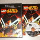 STAR WARS THE VIDEOGAME LEGO GAMECUBE 100% COMPLETE WII