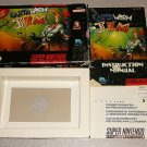 EARTHWORM JIM OUTER BOX INSTRS SUPER NINTENDO SNES