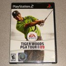 TIGER WOODS 09 PGA TOUR 2009 PLAYSTATION 2 PS2 100% NEW