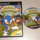 SEGA SUPERSTARS TENNIS PS2 PLAYSTATION 2