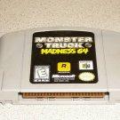 MONSTER TRUCK MADNESS 64 N64 NINTENDO 64