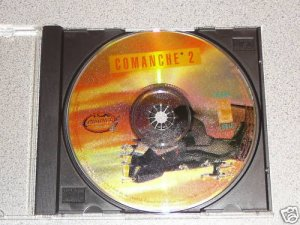 COMANCHE 1 2 3 4 GOLD PC CD ROM GAME 4 GAMES NOVALOGIC
