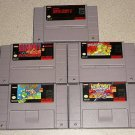 BAZOOKA BLITZ YOSHI BATTLE SNES SUPER SCOPE 10 GAMES