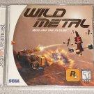WILD METAL SEGA DREAMCAST NEW SEALED ROCKSTAR GAME