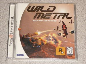 WILD METAL SEGA DREAMCAST NEW SEALED ROCKSTAR GAME