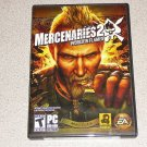 MERCENARIES 2 WORLD IN FLAMES BRAND NEW PC DVD ROM