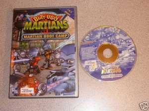 BUTT UGLY MARTIANS BOOT CAMP 100% COMPLETE PC MAC CD