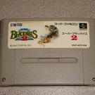 SUPER BLACK BASS 2 FISHING SFC SUPER FAMICOM IMPORT