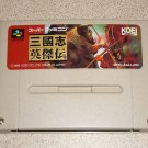 ROMANCE THREE KINGDOMS 3 KOEI SFC SUPER FAMICOM IMPORT