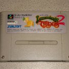 LEMMINGS 2 THE TRIBES SFC SUPER FAMICOM IMPORT