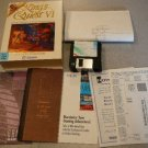 "KING'S QUEST 6 VI SIERRA PC 3.5"" BIG BOX BOXED COMPLETE"