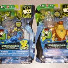 BEN 10 ALIEN FORCE HUMUNGOUSAUR SPIDERMONKEY NEW SEALED
