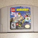 LEGO RACERS EVERYONE SUPER FUN N64 NINTENDO 64