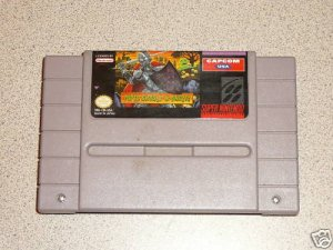 SUPER GHOULS'N GHOSTS SUPER NINTENDO SNES