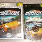 NEED FOR SPEED HOT PURSUIT 2 XBOX 100% COMPLETE