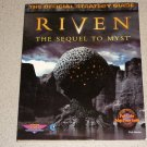 RIVEN OFFICIAL PRIMA STRATEGY GUIDE PC FULL MAP BOOK