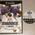 MADDEN 05 2005 FOOTBALL GAMECUBE PLAYS ON THE WII