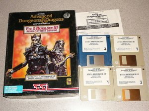 AD&D EYE OF THE BEHOLDER III 3 ASSAULT MYTH PC BIG BOX