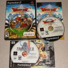 DRAGON QUEST VIII 8 2 DISC PS2 PLAYSTATION 2 COMPLETE