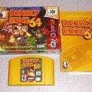 DONKEY KONG 64 N64 NINTENDO 64 100% COMPLETE BOXED