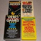 VIDEO GAMES KEN USTON 3 BOOK SET COLLECTION 82 RARE