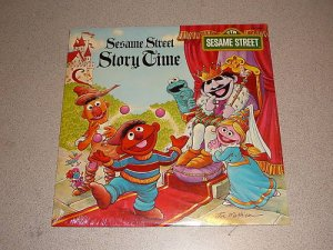 SESAME STREET STORY TIME NEW SEALED VINYL RECORD LP 78'