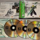 FINAL FANTASY VII 7 PLAYSTATION PS1 100% COMPLETE