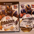 MADDEN 2003 03 FOOTBALL GAMECUBE COMPLETE PLAYS WII