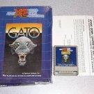 GATO ATARI XE XL 800 BOXED VINTAGE GAME
