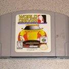 WORLD DRIVER CHAMPIONSHIP N64 NINTENDO 64