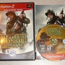 MEDAL HONOR FRONTLINE PS2 PLAYSTATION 2 100% COMPLETE